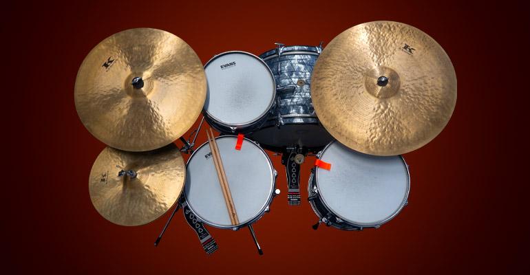 kit drum jazz